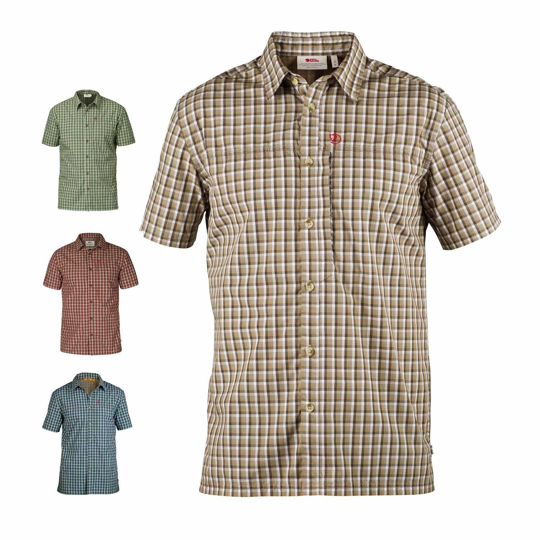 Fjällräven Herren Svante Shirt Ss Comfort Oberhemd