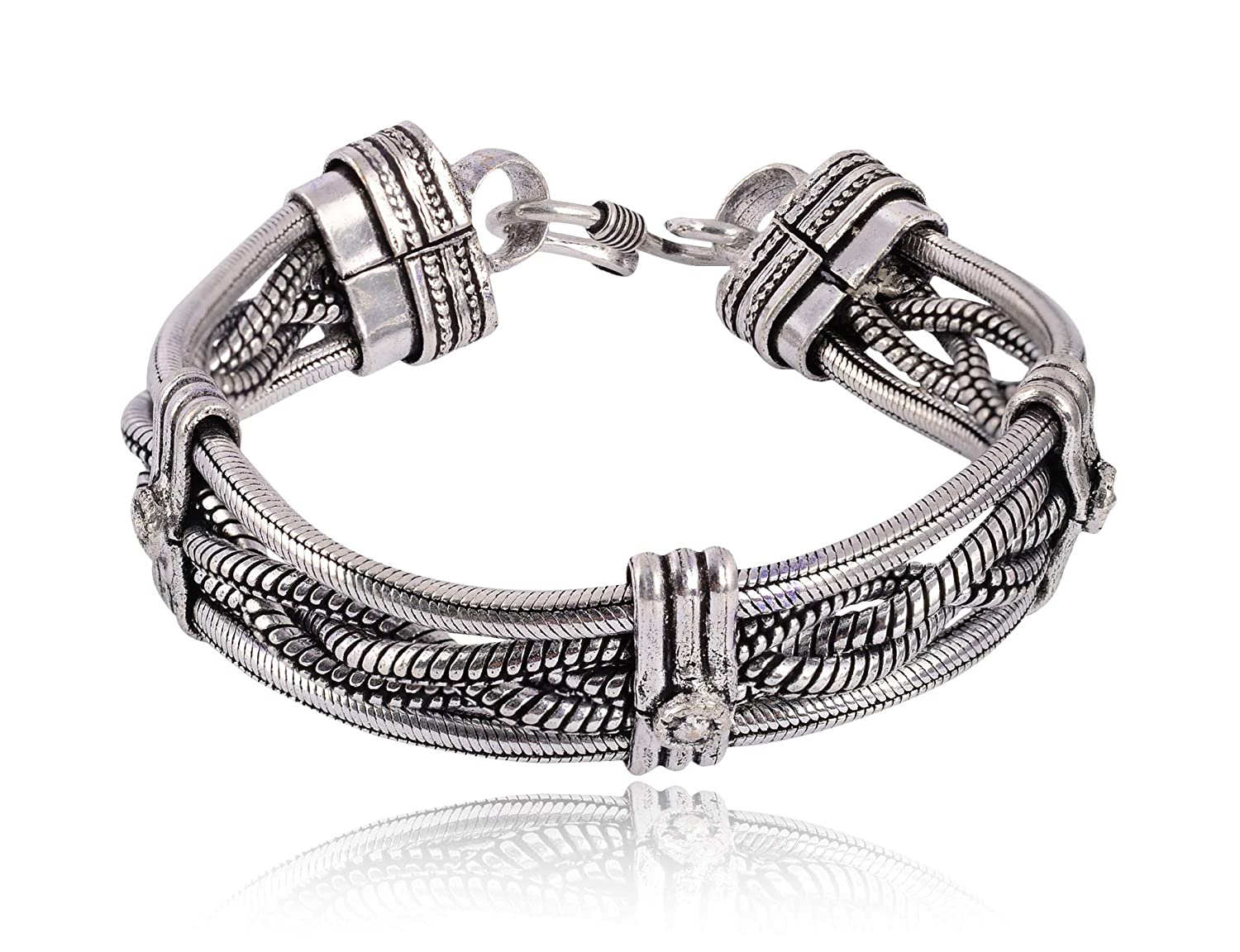 Buy Sanaa Creations Mens Jewellery Silver Plated Traditional