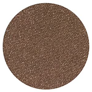 Brew Irridescent Brown Eyeshadow - Highly Pigmented Professional Makeup Eye Shadow Single Pan, Wet or Dry Magnetic Refill, Paraben Gluten Free Make Up, Cruelty Free Cosmetics, Beauty Junkees [26mm]