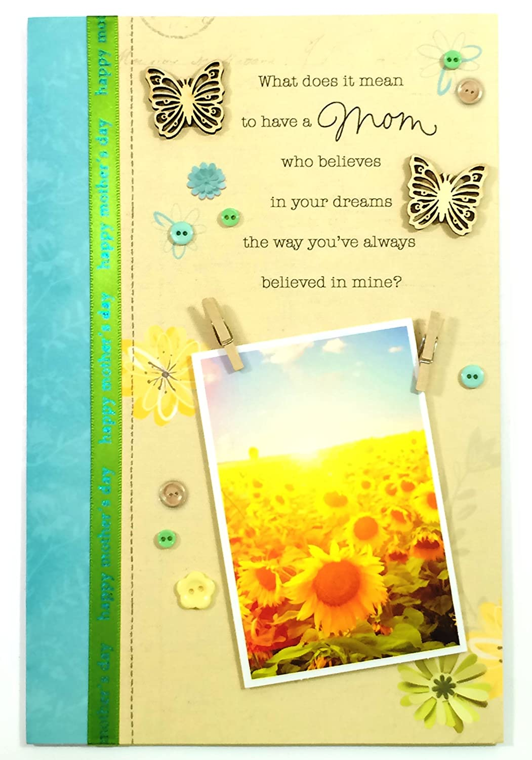 Amazon Mothers Day Cardwhat Does It Mean To Have A Mom Who