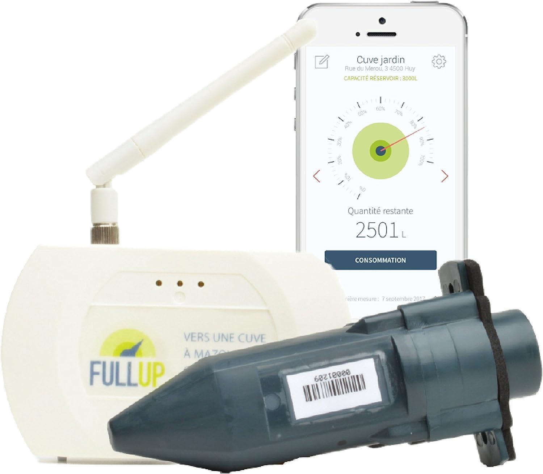 Fullup - Medidor por ultrasonidos para depósito de agua/gasoil (con aplicación móvil de gestión)