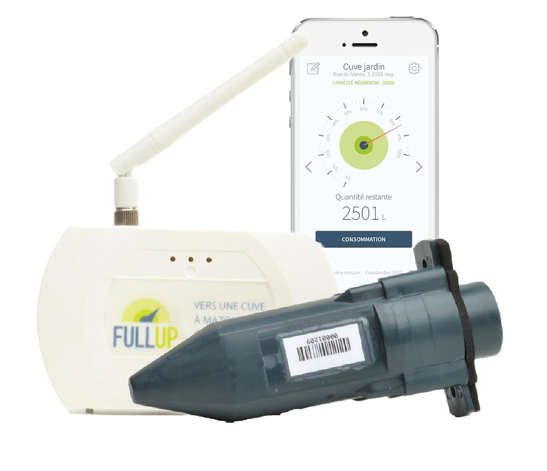 Jauge à ultrason pour cuve à eau/Fioul avec application mobile de gestion! tekelek