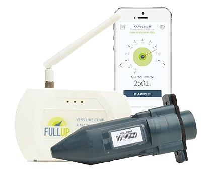 Fullup - Medidor por ultrasonidos para depósito de agua/gasoil (con aplicación móvil de