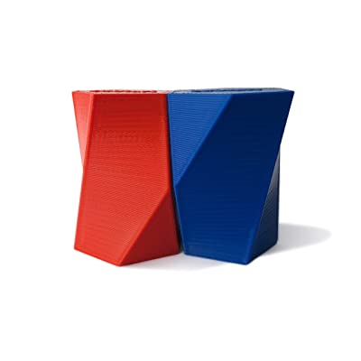 EdStart Scutoid Geometrical Solid Pair (Red-Blue): Toys & Games