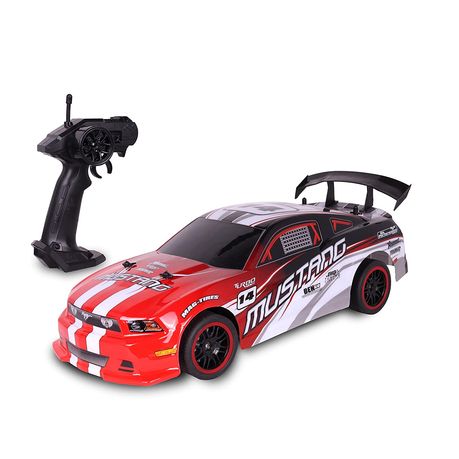 Amazon com nkok urban ridez 110 rc ford mustang gt toys games