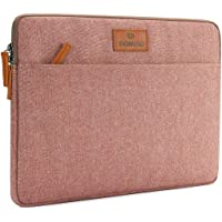 "DOMISO 14 inch Laptop Sleeve Case Carrying Bag Briefcase for 13.5"" Microsoft Surface Book / 14"" Lenovo/HP/Acer/ASUS/Dell Chromebook Notbook,Pink"