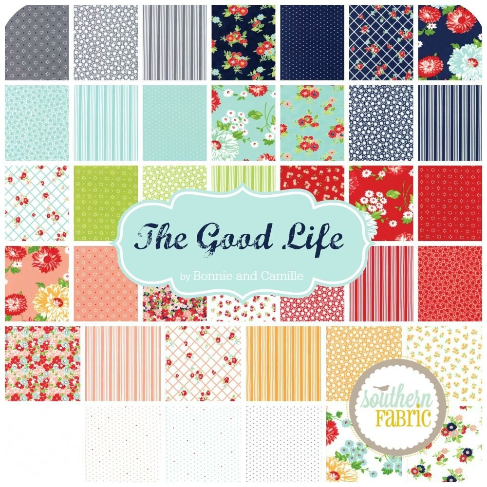 Amazon.com: The Good Life Scrap Bag (approx 2 yards) by Bonnie and ...