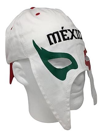 México gorra Mascara de futbol. México fútbol sombrero. mexicano lucha libre mask Cap,