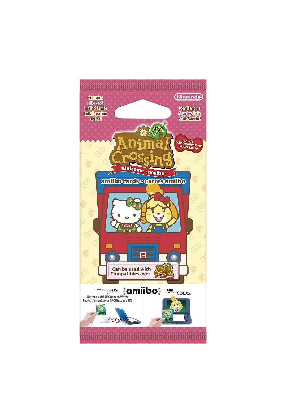 Nintendo - Pack 6 Tarjetas Amiibo Animal Crossing, Hello Kitty ...