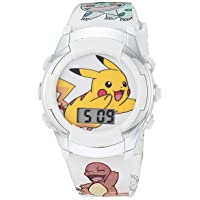 Boys' Quartz Watch with Rubber Strap, Multicolor, 13 (Model: POK4240AZ)