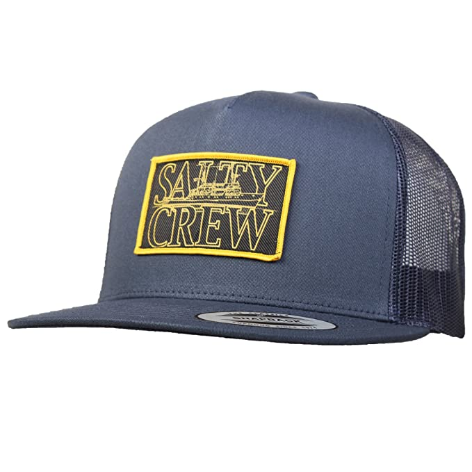 info for 5ec25 f5daf purchase salty crew tippet grey black trucker hat 599f1 6f9c9  authentic salty  crew rigged trucker hat navy blue one size fits all 4bb44 ec1a3