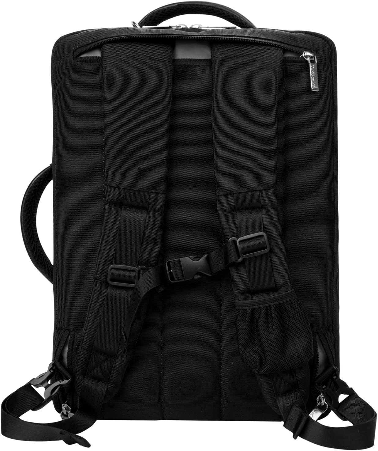 Black Convertible Laptop Messenger Bag for 14 to 15.6 inch Laptops NoteBooks Portable Monitors