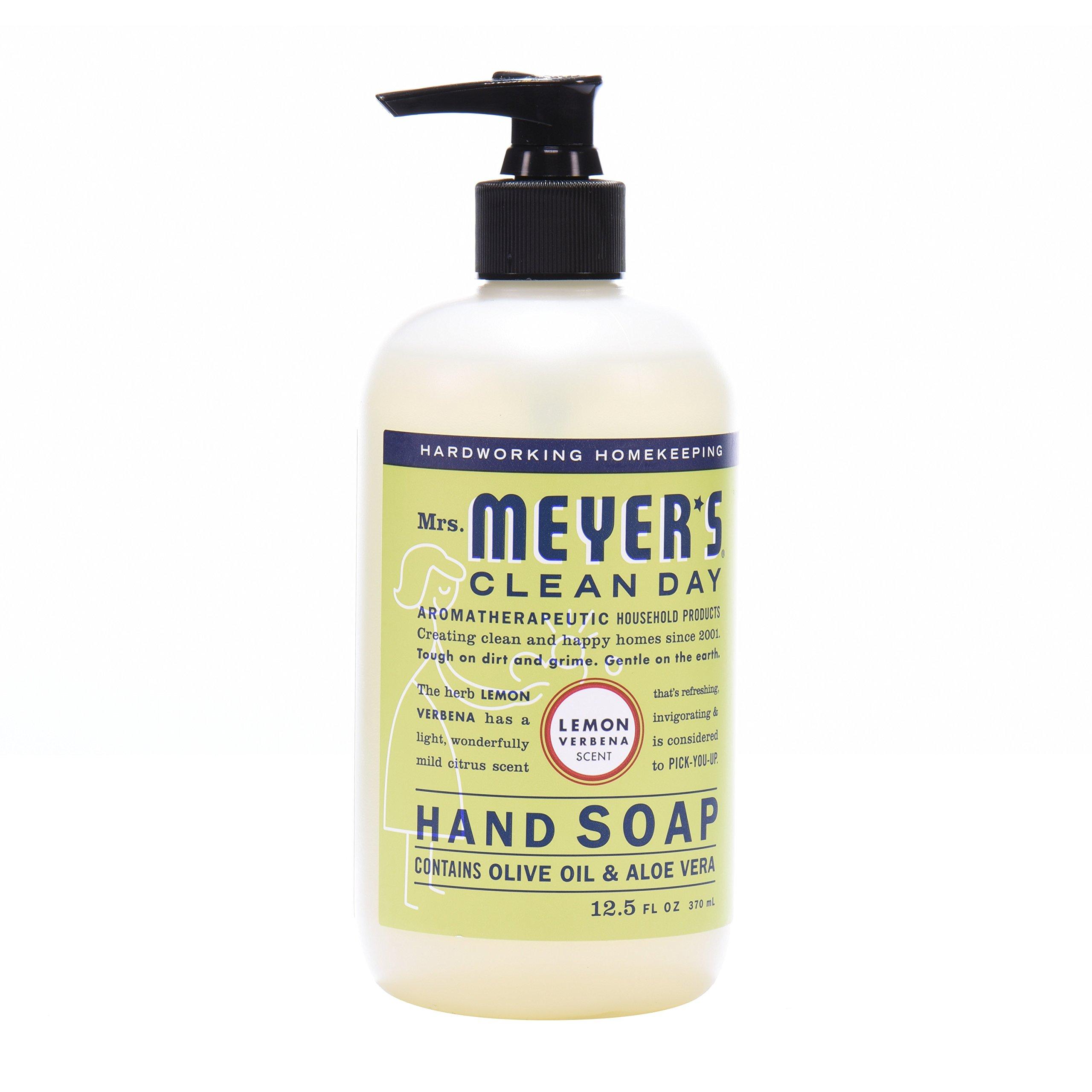 Mrs. Meyer's Clean Day Kitchen Basics Set, Lemon Verbena, 3 ct: Dish Soap (16 fl oz), Hand Soap (12.5 fl oz), Multi-Surface Everyday Cleaner (16 fl oz) by Mrs. Meyer's Clean Day (Image #7)