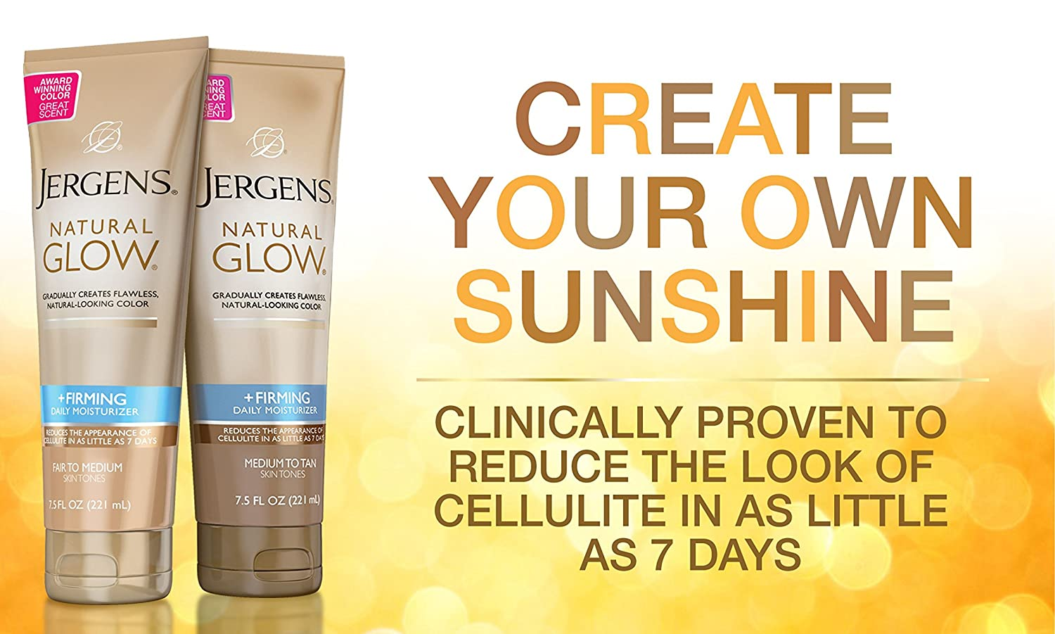 Natural Glow +Firming Daily Moisturizer by jergens #12