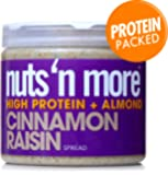 Nuts 'N More High Protein Cinnamon Raisin Almond Butter (16 oz)