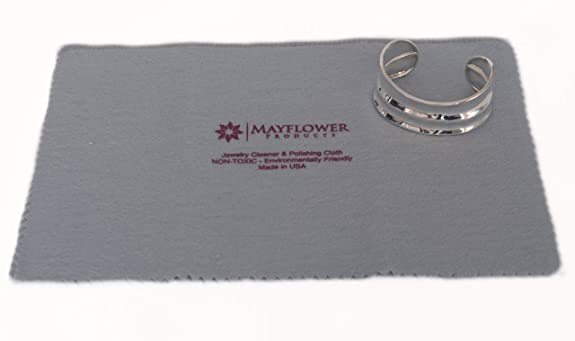Amazon Mayflower Polishing Cloth for Cleaning Silver Gold
