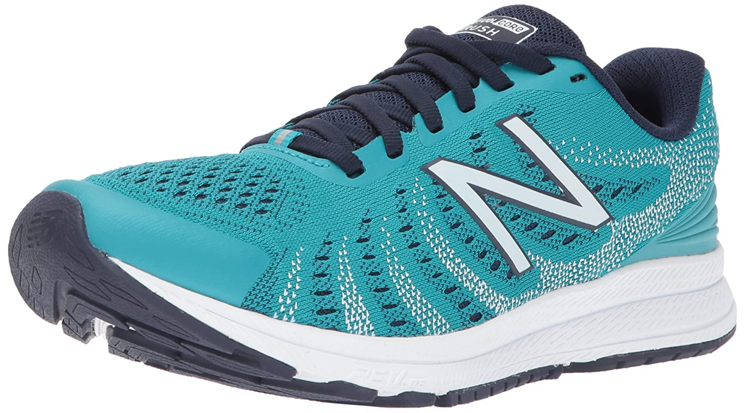 New Balance Women's Rushv3 Running-Shoes B01N77XOGO 10 D US|Pisces/Pigment