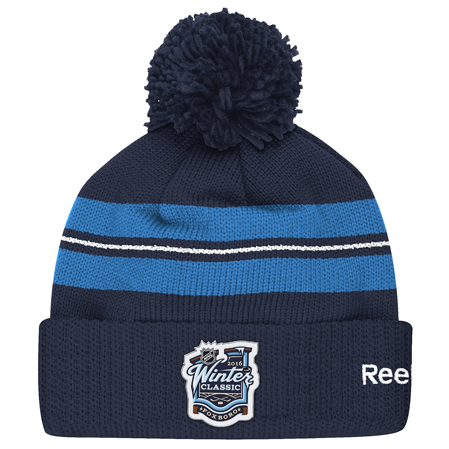 NHL Winter Classic Men's Pom Beanie One Size Navy