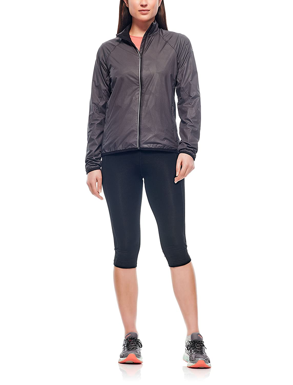 Lightweight Merino Wool Liner Icebreaker USA 103640601XL Icebreaker Rush Windbreaker Jacket for Trail Running /& Hiking