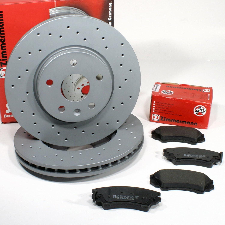 Bremsbel/äge f/ür vorne//die Vorderachse Zimmermann Bremsscheiben 300 mm Coat Z Bremsen