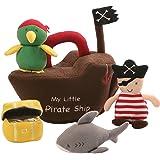 Gund Pirate Ship Baby Playset Plush