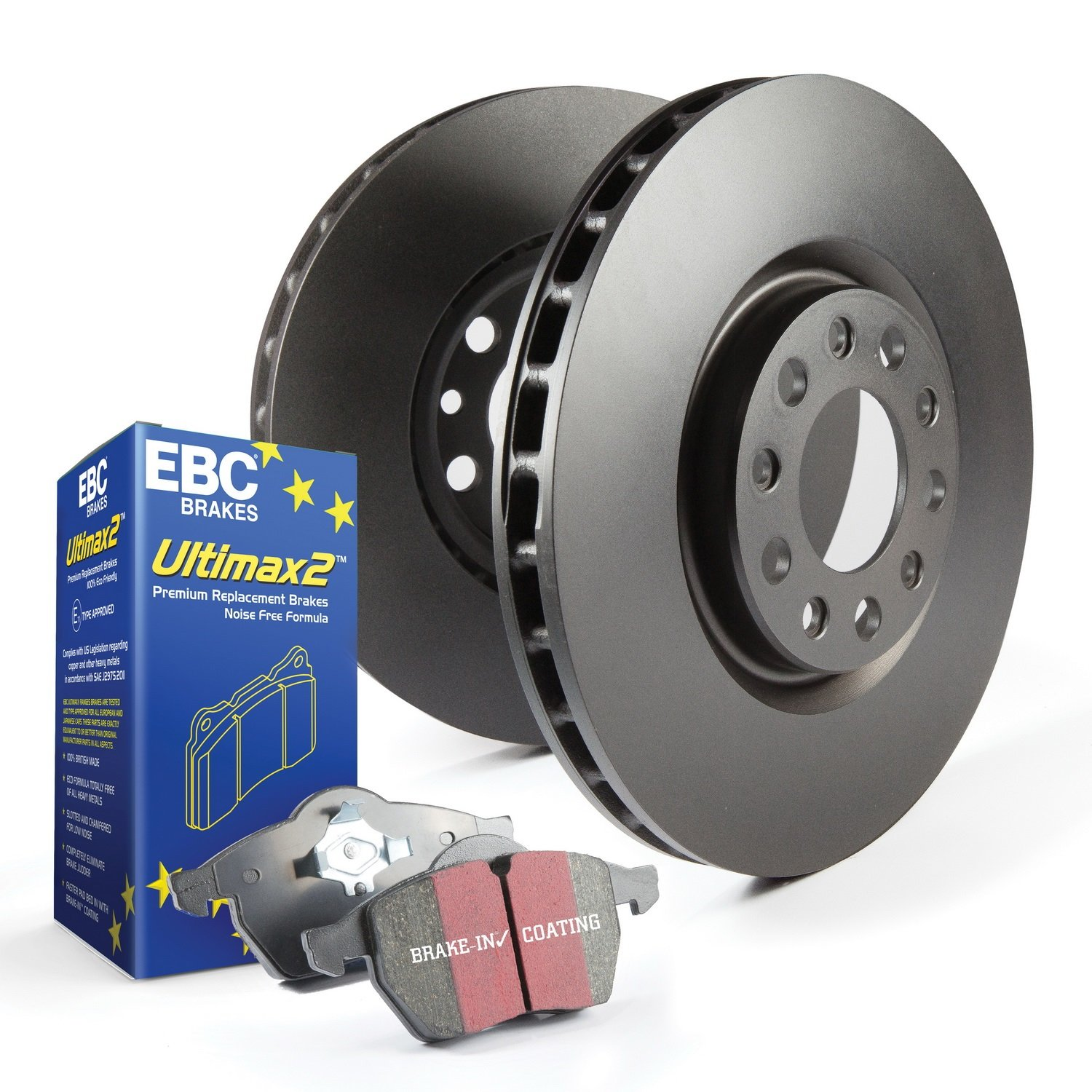 EBC S1KR1038 Stage-1 Premium Street Brake Kit