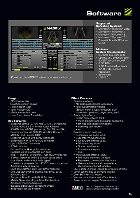 Madrix Start Key V3 X DMX Lighting Software IA-SOFT-001013