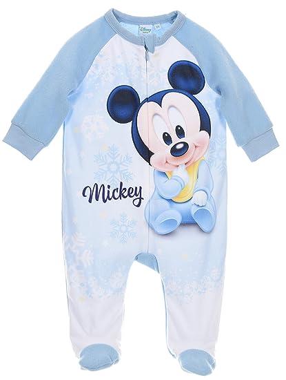 Mickey bebé-niños Pijama Largo
