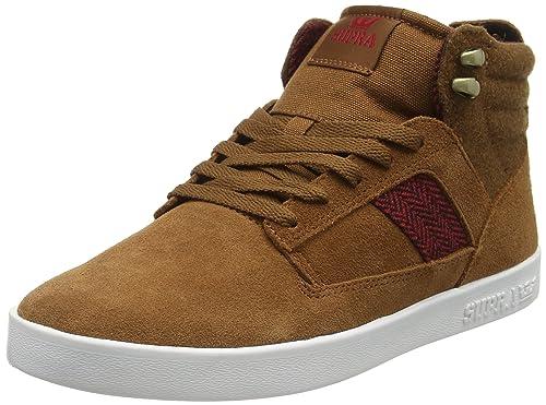 Supra BANDIT - zapatillas deportivas altas de cuero hombre: Amazon.es: Zapatos y complementos