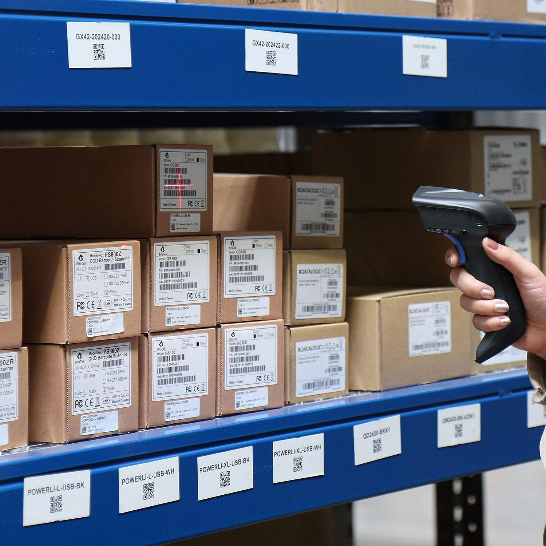 non rivestite autoadesive Labelident Etichette termiche su rotolo per stampanti standard e industriali 75 x 40 mm 1000 etichette termiche dirette senza BPA