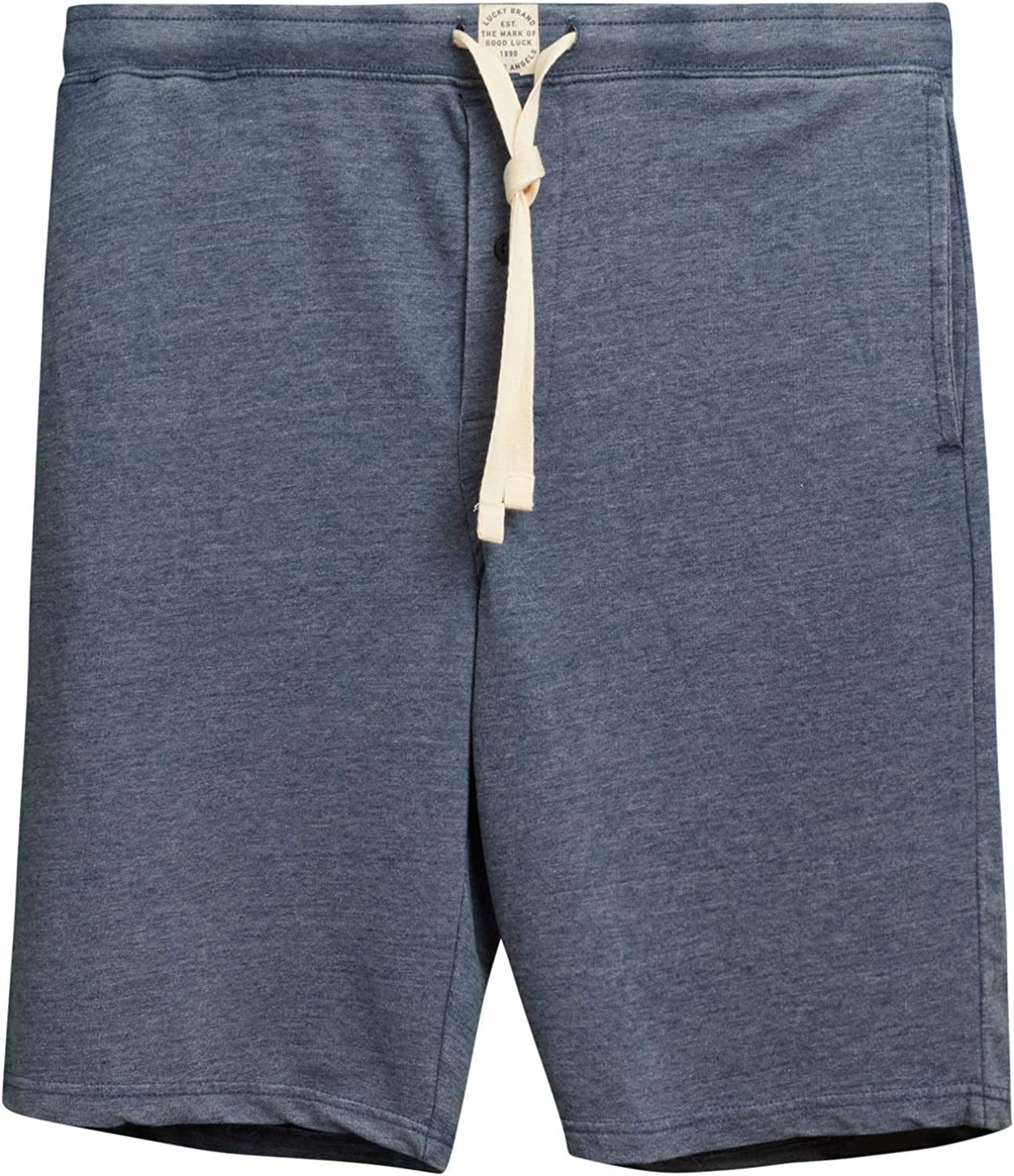 Lucky Brand Men's French Terry Knit Lounge Pajama Sleep Shorts