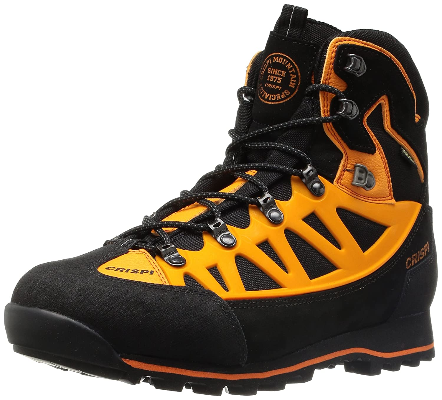 CRISPI Schuh Skogshorn Ascent Plus GTX® Orange High Visibility