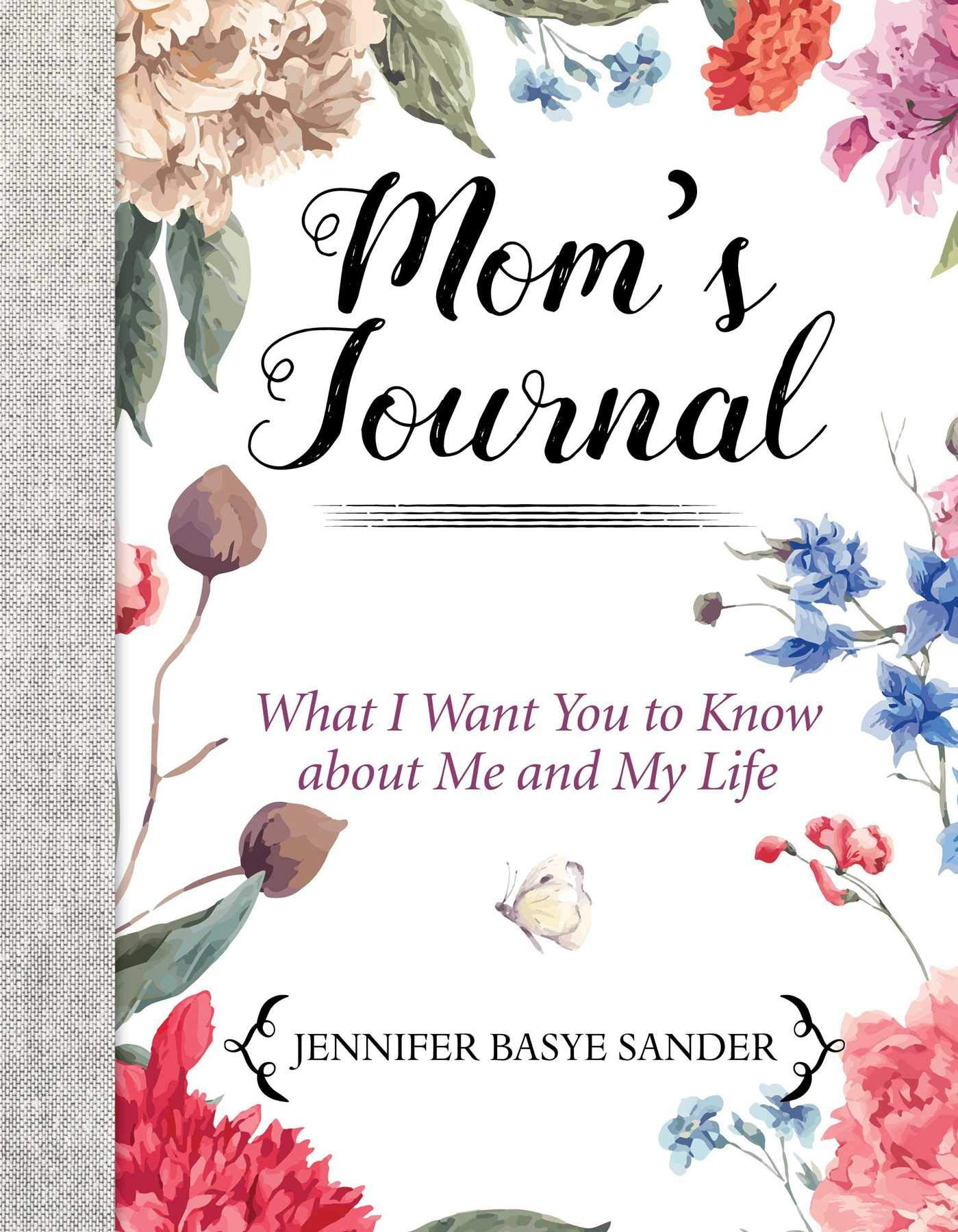 Moms Journal Keepsake What About product image