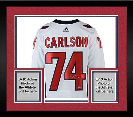 more photos 1fb9f ad467 Framed John Carlson Washington Capitals 2018 Stanley Cup ...