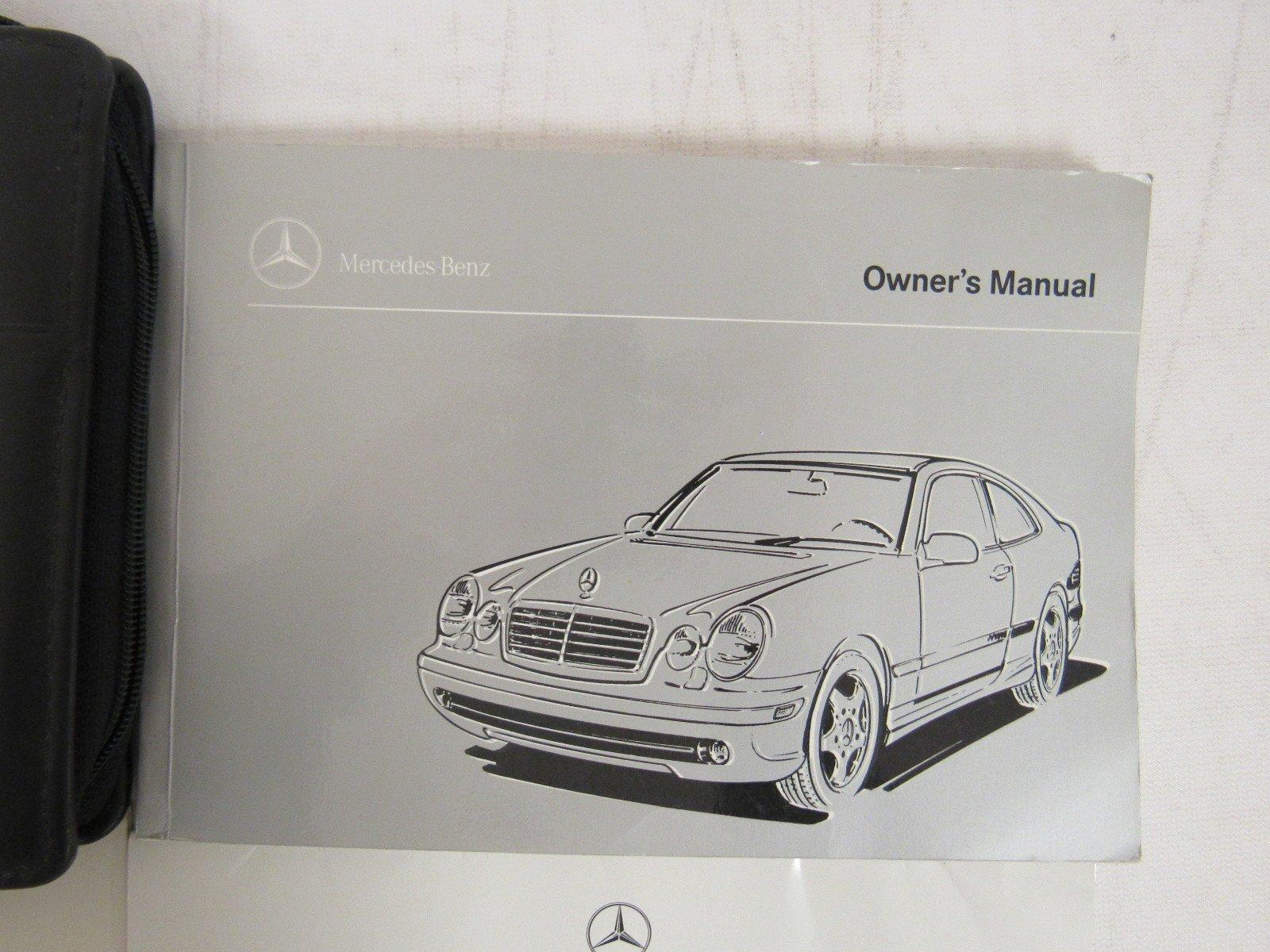 1999 Mercedes-Benz CLK 430 Owners Manual book: Mercedes-Benz: Amazon.com:  Books