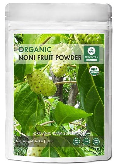 Amazoncom Naturevibe Botanicals Usda Organic Noni Fruit Powder