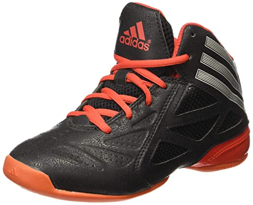 886235e42f48 Adidas Boy s Nxt Lvl SPD 2 K Black and Red Basketball Shoes - 1 UK ...