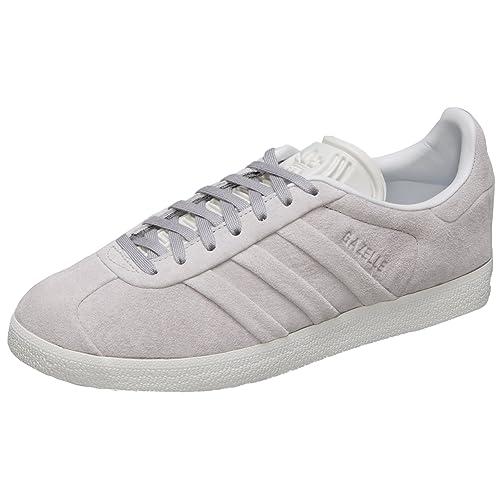 hot sale online 929c9 40f16 adidas Gazelle Stitch And Turn W, Scarpe da Fitness Donna, Grigio (Gridos