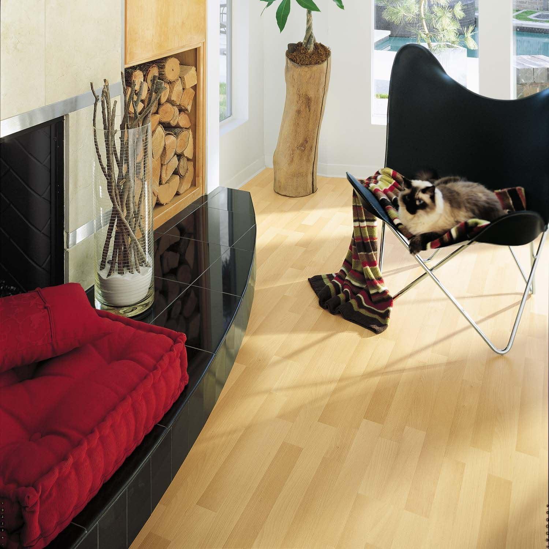 Amazon Com Traditional Living Classic Beech Premium Laminate Flooring 36 Ct Home Improvement