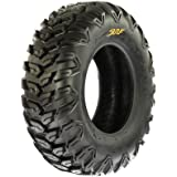 SunF A043 Sport-Performance XC ATV/UTV Off-Road RADIAL Tire - 25x8R12 (6-Ply Rated)