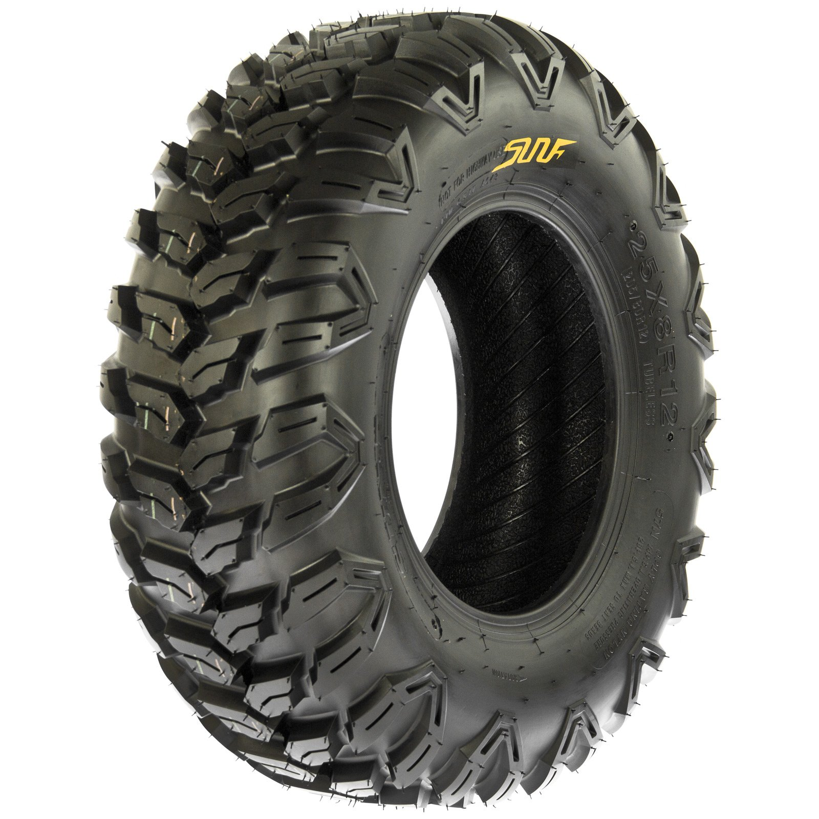 SunF A043 Sport-Performance XC ATV/UTV Off-Road RADIAL Tire - 27x9R12 (6-Ply Rated)
