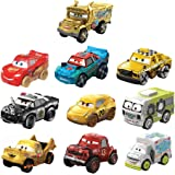 Disney Pixar Cars Mini Racers Derby Racers Series 10-Pack
