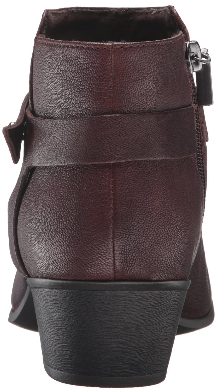 CLARKS Women's Boylan Dawn Ankle Bootie B019JT3RHA 6 B(M) US|Brown Leather