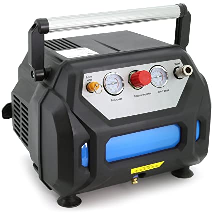 Impresión Aire - Compresor 1,5 ps/6 L (1.100 W 8 bar pequeña ...