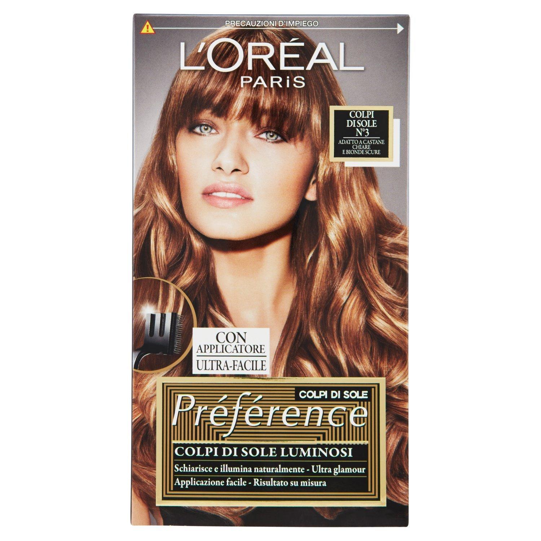 L'Oréal Paris Préférence Colpi di Sole Capelli Luminosi e Glamour, 3 Castane Chiare e Bionde Scure A7776600