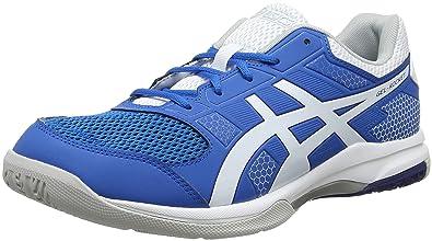 d2e448bf23bad Amazon.com | ASICS Men's Gel-Rocket 8, Race Blue/White | Shoes