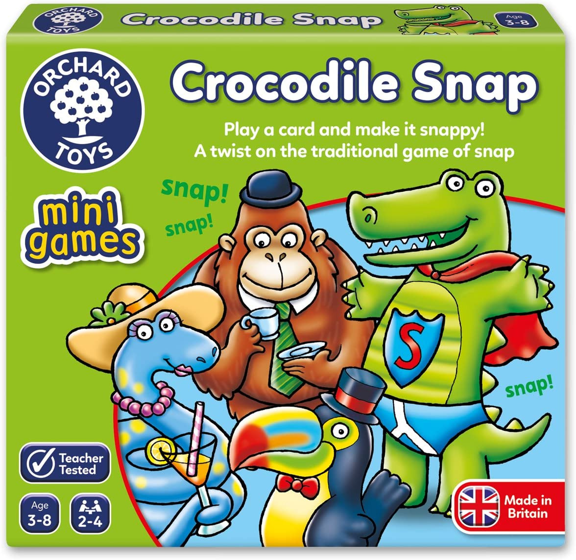 Orchard Toys Crocodile Snap Mini Juego