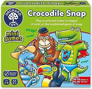 Orchard Toys Crocodile Snap Mini Juego: Orchard Toys: Amazon.es: Juguetes y juegos