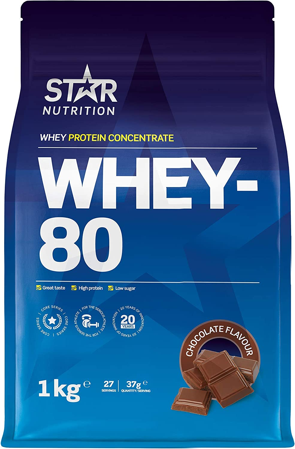 Whey 80 (Chocolate) Protein