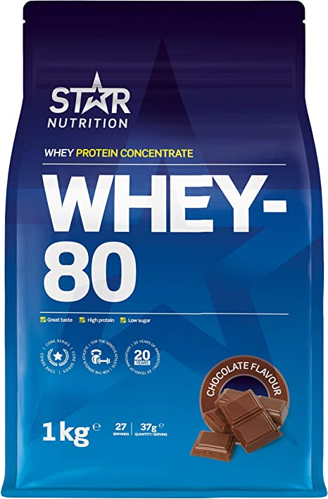 star nutrition whey 80 review